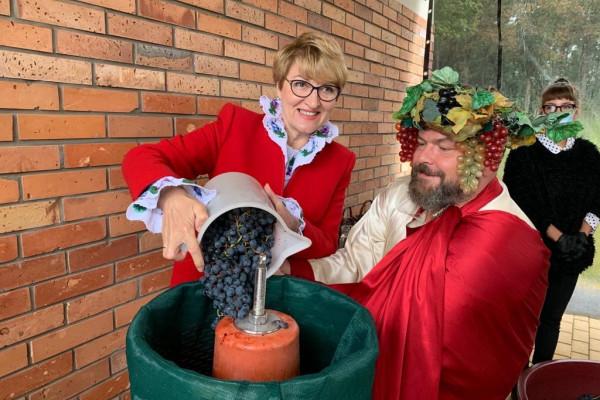Piąte winobranie w Zaborze