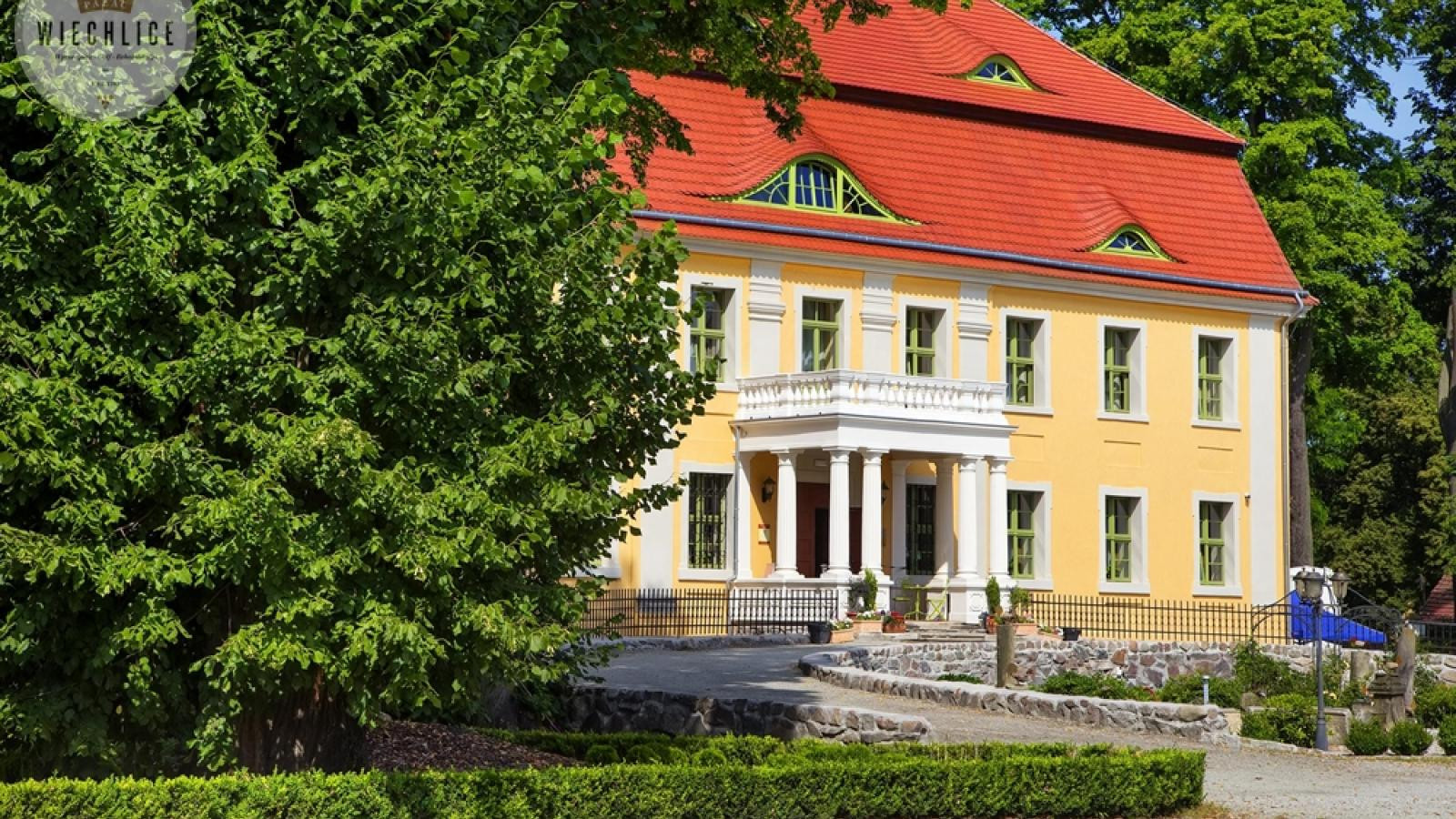 Lubuskie Centrum Winiarstwa - Hotel Pałac Wiechlice